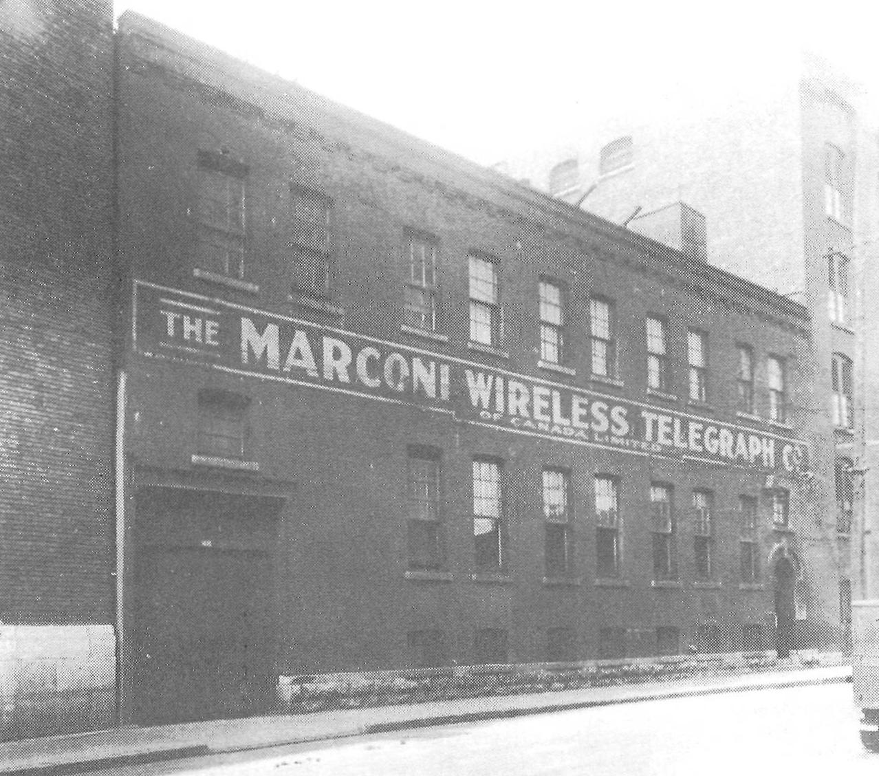 Marconi Wireless Telegraph Co. (rue Williams)