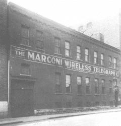 Bâtiment Marconi sur rue Williams