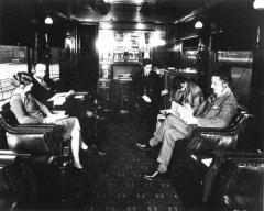 Radiodiffusion dans un wagon de train CNR
