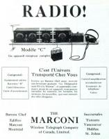Marconi Modèle C, 1922
