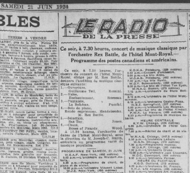 La Presse, June 24, 1924