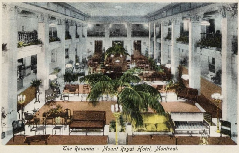 Postcard from the Mount Royal Hotel
