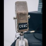 CKAC RCA44A microphone ©Caroline Perron Photographie